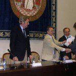 Entrega de premios mejores calificaciones Curso Gestión y Gobierno de la Empresa Familiar