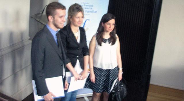 Finalistas III edición premios Cátedra Empresa Familiar